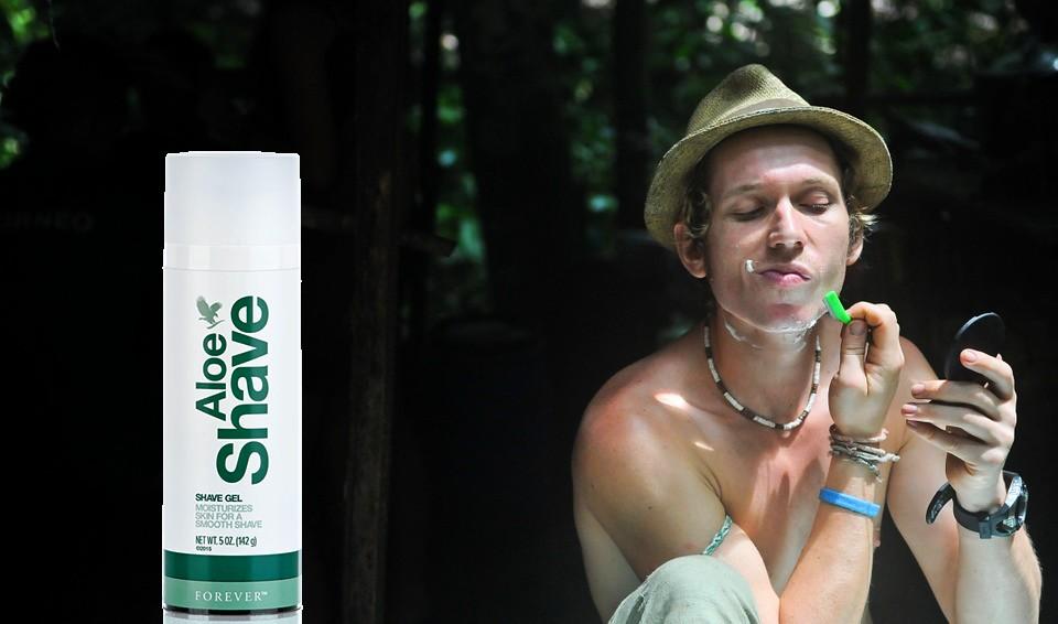 Aloe shave flp aloe vera de la baie maryvonne dutertre