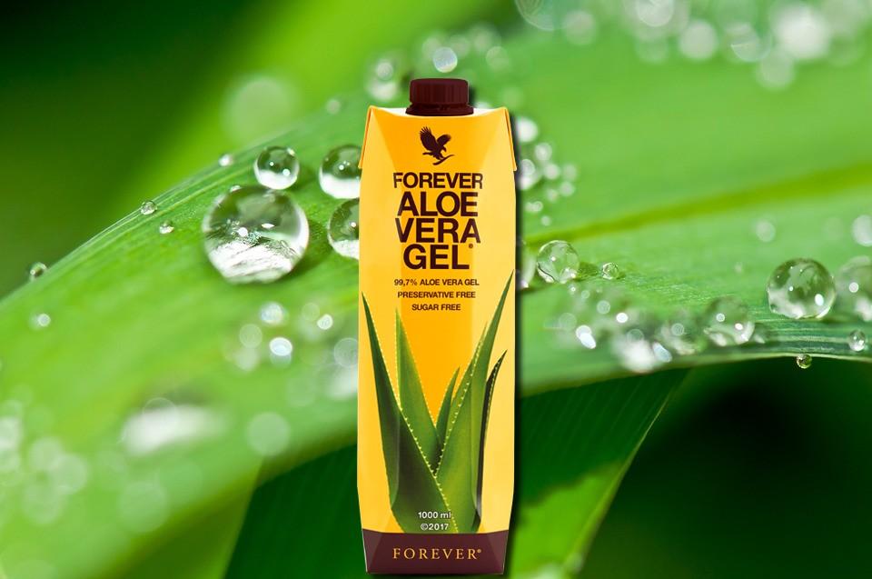 Aloe vera gel forever living products flp aleo vera de la baie