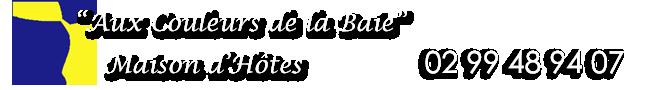 Chambre d'hôtes Aux Couleurs de la Baie