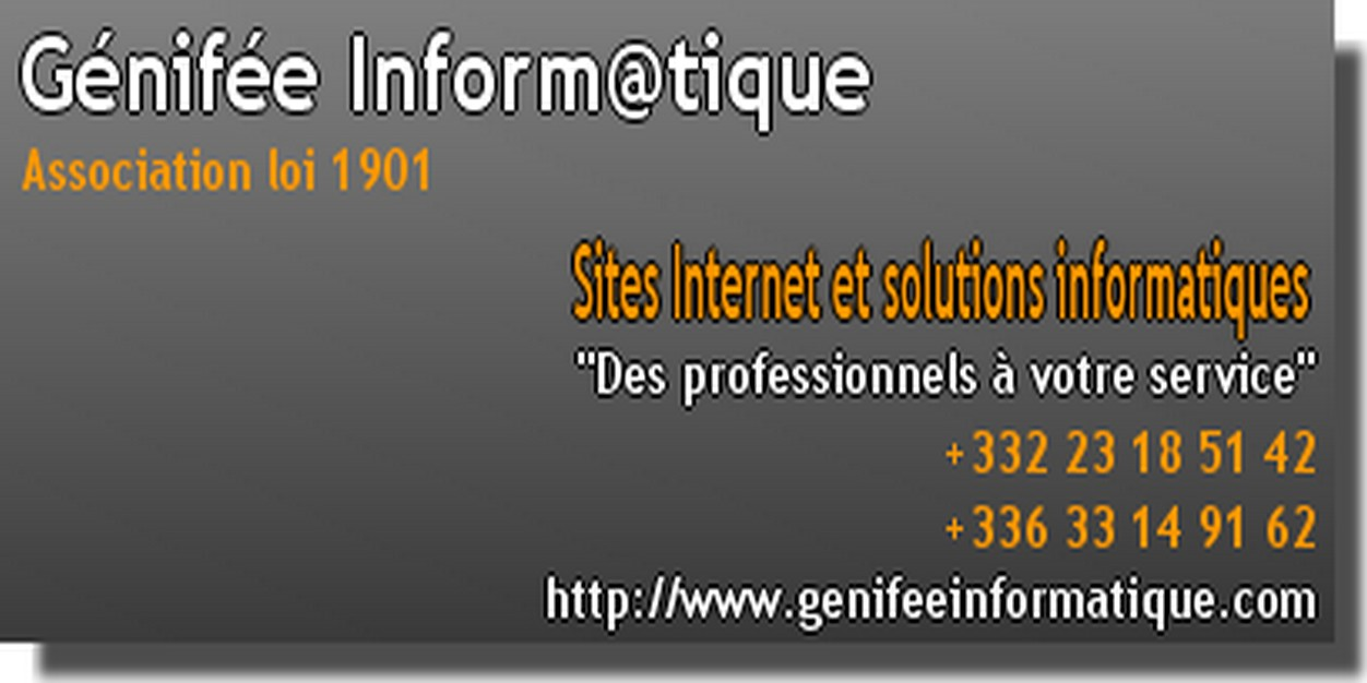 GENIFEE INFORMATIQUE