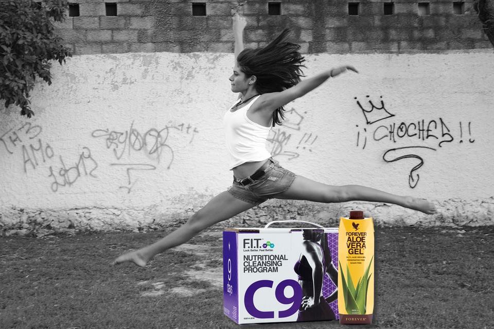 C9 aloe forever living products aloe vera de la baie
