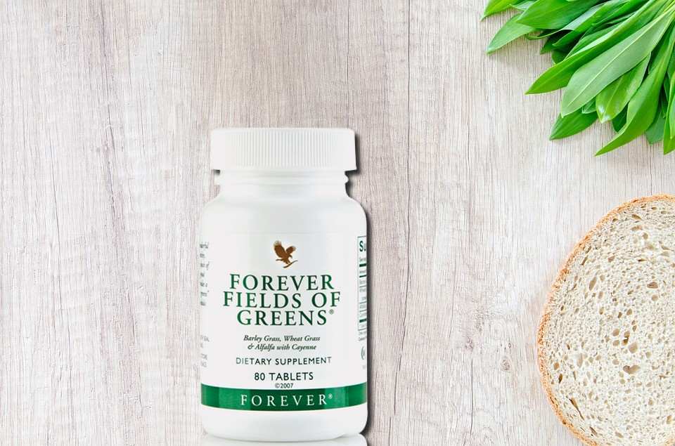 Fields of greens orever living products aloe vera de la baie