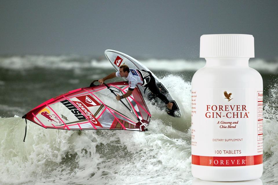 Forever gin chia flp aloe vera de la baie