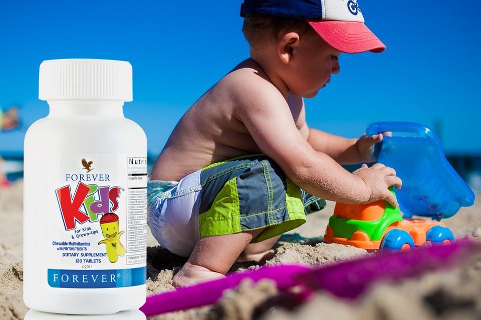 Forever kids flp aloe vera de la baie forever living products