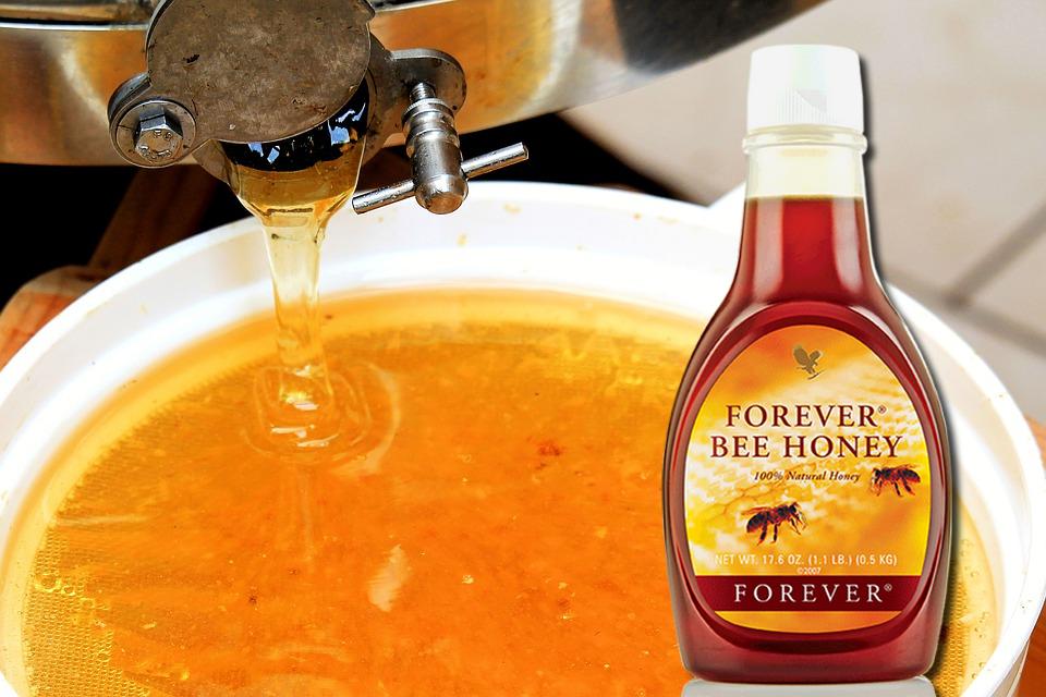 Forver miel bee honey aloe vera de la baie