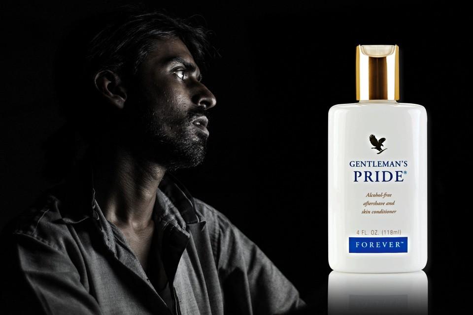 Gentleman pride apres rasage flp forever living products aloe vera de la baie