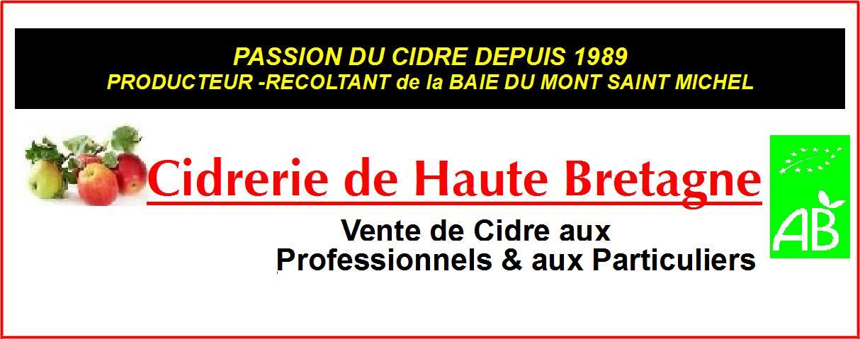 CIDRERIE DE HAUTE BRETAGNE