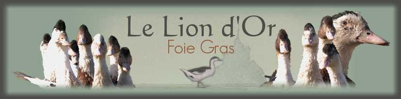 LE LION D'OR Foie gras de canard Cherrueix
