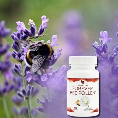 Forever bee pollen aloe vera de la baie flp