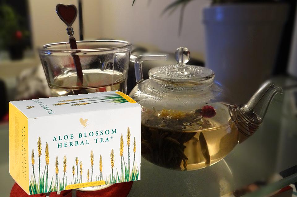 Herbal tea flp aloe vera de la baie